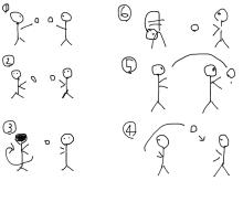 ブレインジムトレーニングを取り入れた遊びの画像