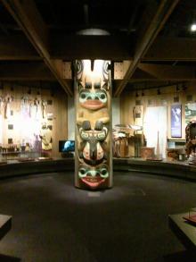 網走の北方民族博物館でのアラスカの先住民族・イヌイト(イヌイット)関連の画像