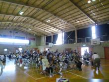 福山市の久松台小学校でのブレインジム講座の画像